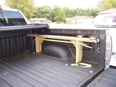 Homemade Truck Bed Bike Rack Korey Atterberry S Idle Chatter