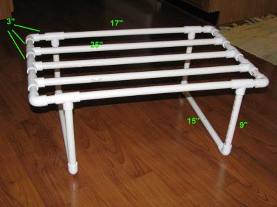 diaper drying rack with dimensions