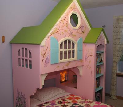 Dollhouse Twin Bed Plans