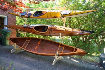 Diy Kayak Rack >> Homemade Kayak Storage Rack Korey Atterberry S Idle Chatter